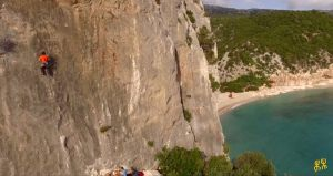 Climbers a Dorgali Cala Gonone
