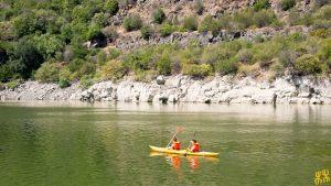 In kayak sul Cedrino
